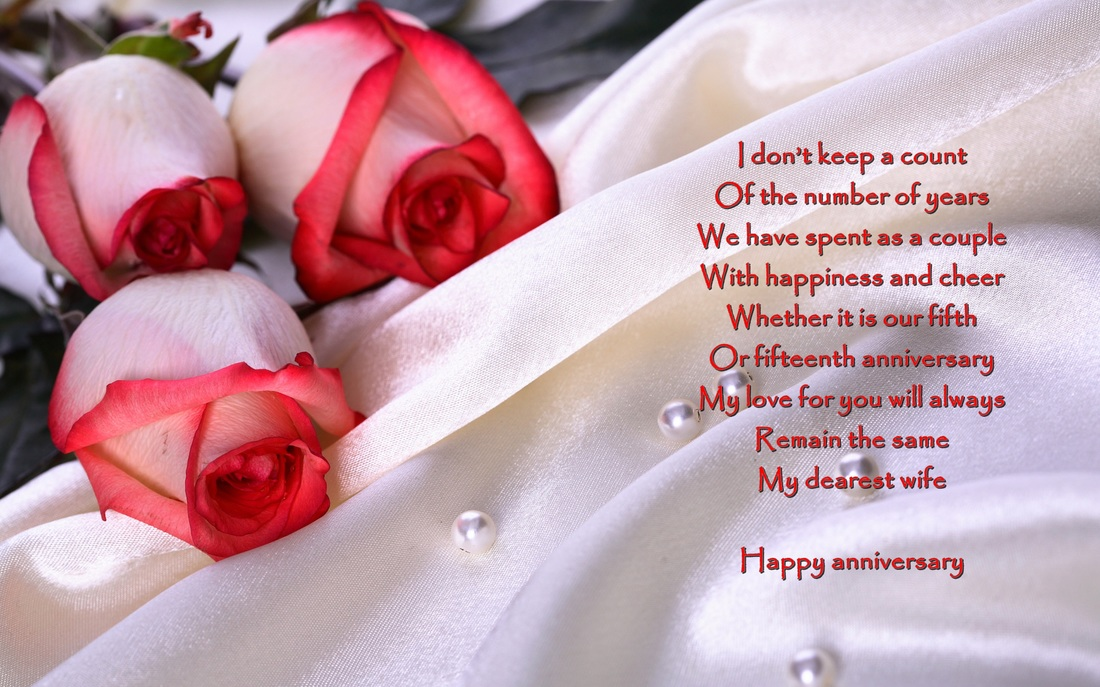Wife Wedding Anniversary Verses