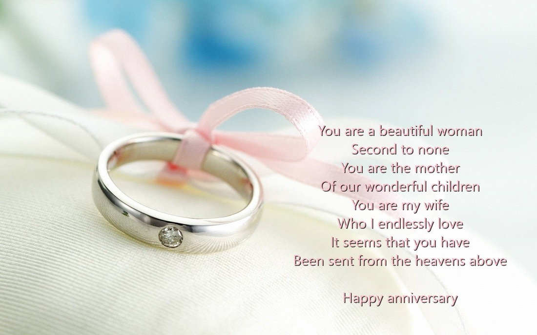 Wife wedding anniversary verses card verses greetings and wishes