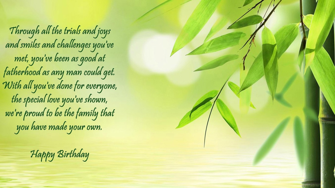 Step Father Birthday Verses Card Verses Greetings And Wishes